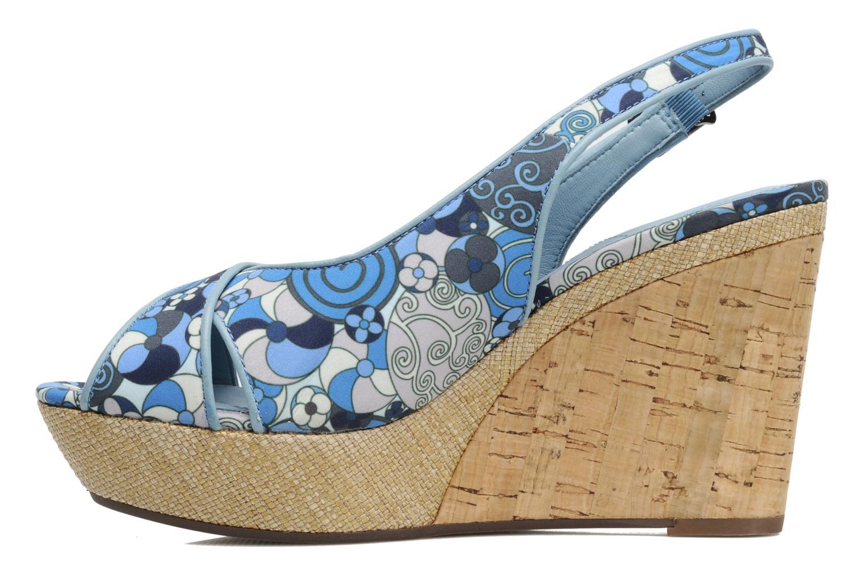 Sandals MARC MINOUCHE Blue front view