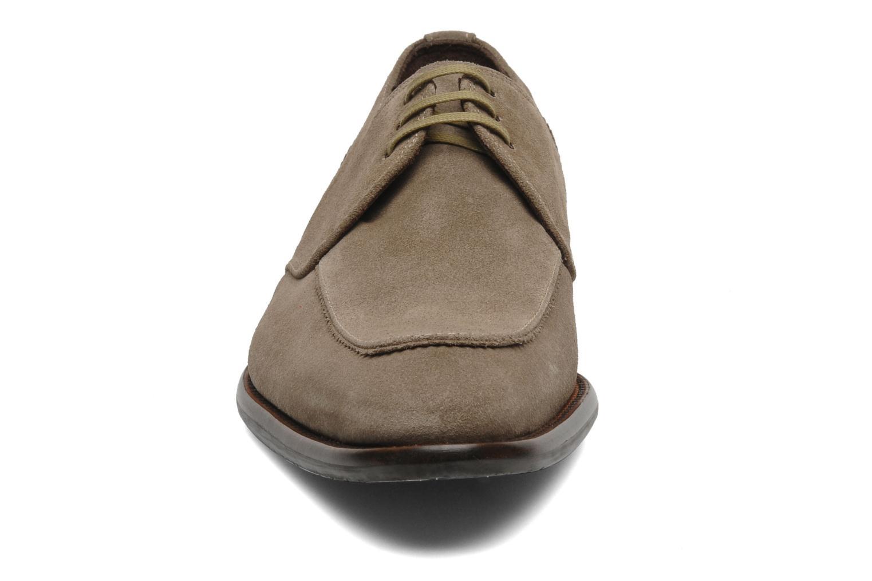 Schnürschuhe Floris Van Bommel Rick grau schuhe getragen