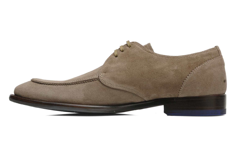 Zapatos con cordones Floris Van Bommel Rick Gris vista de frente