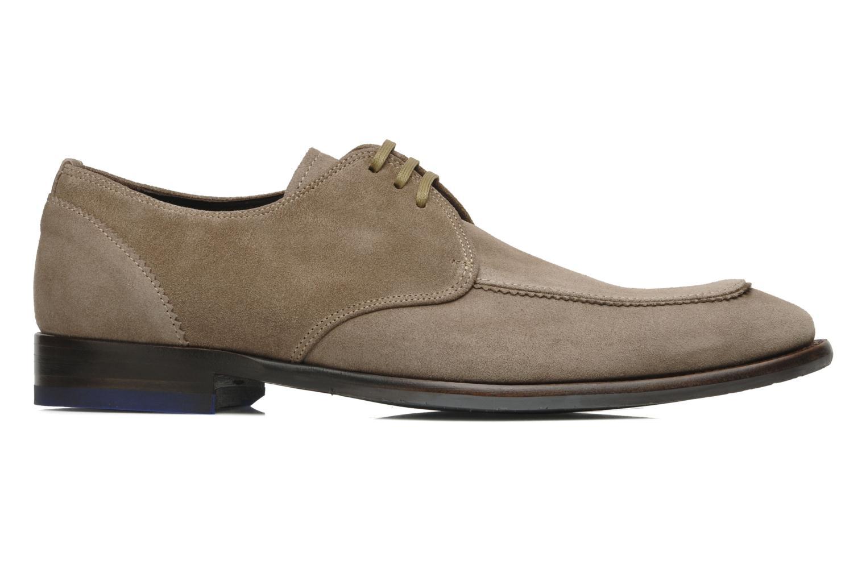 Zapatos con cordones Floris Van Bommel Rick Gris vistra trasera