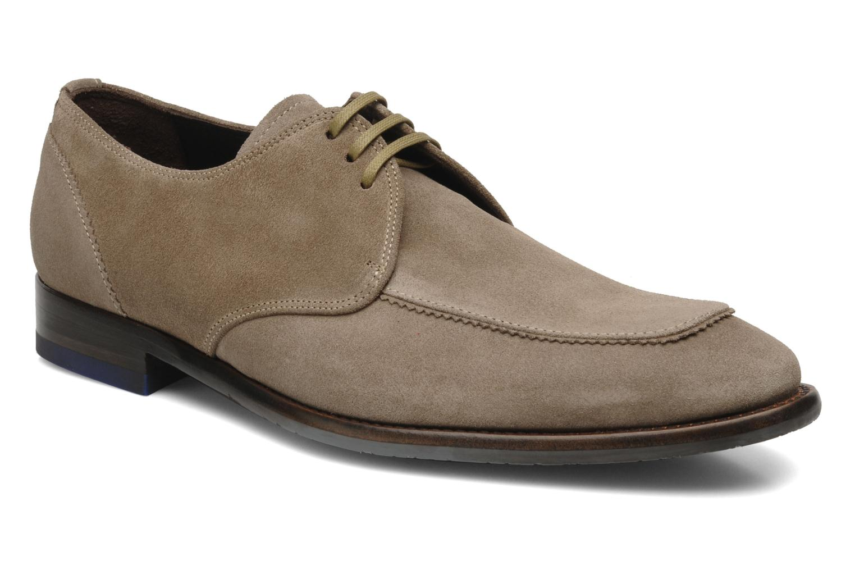 Zapatos con cordones Floris Van Bommel Rick Gris vista de detalle / par
