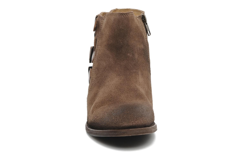 Bottines et boots H By Hudson ENCKE Marron vue portées chaussures