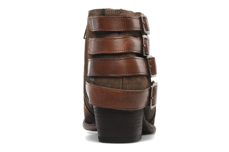 Stiefeletten & Boots H By Hudson ENCKE braun ansicht von rechts