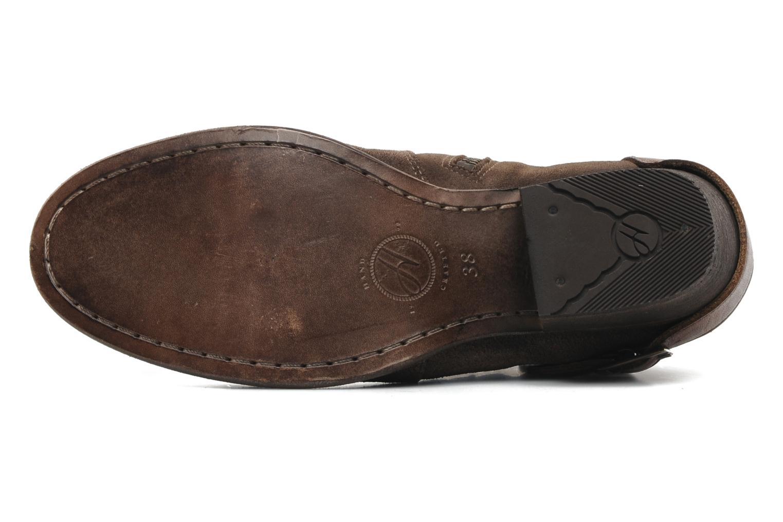 Stiefeletten & Boots H By Hudson ENCKE braun ansicht von oben