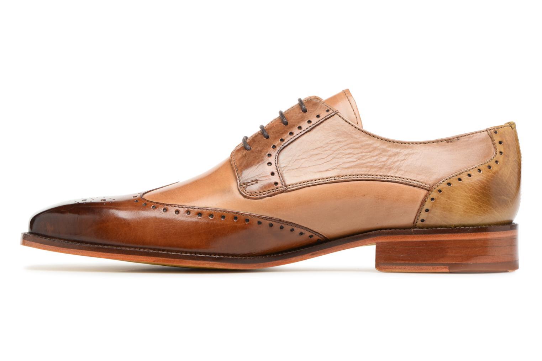 Lace-up shoes Melvin & Hamilton Jeff 14 Brown front view