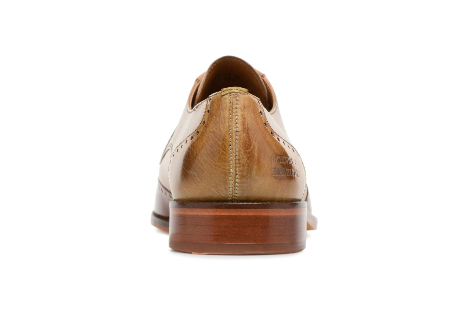 Lace-up shoes Melvin & Hamilton Jeff 14 Brown view from the right