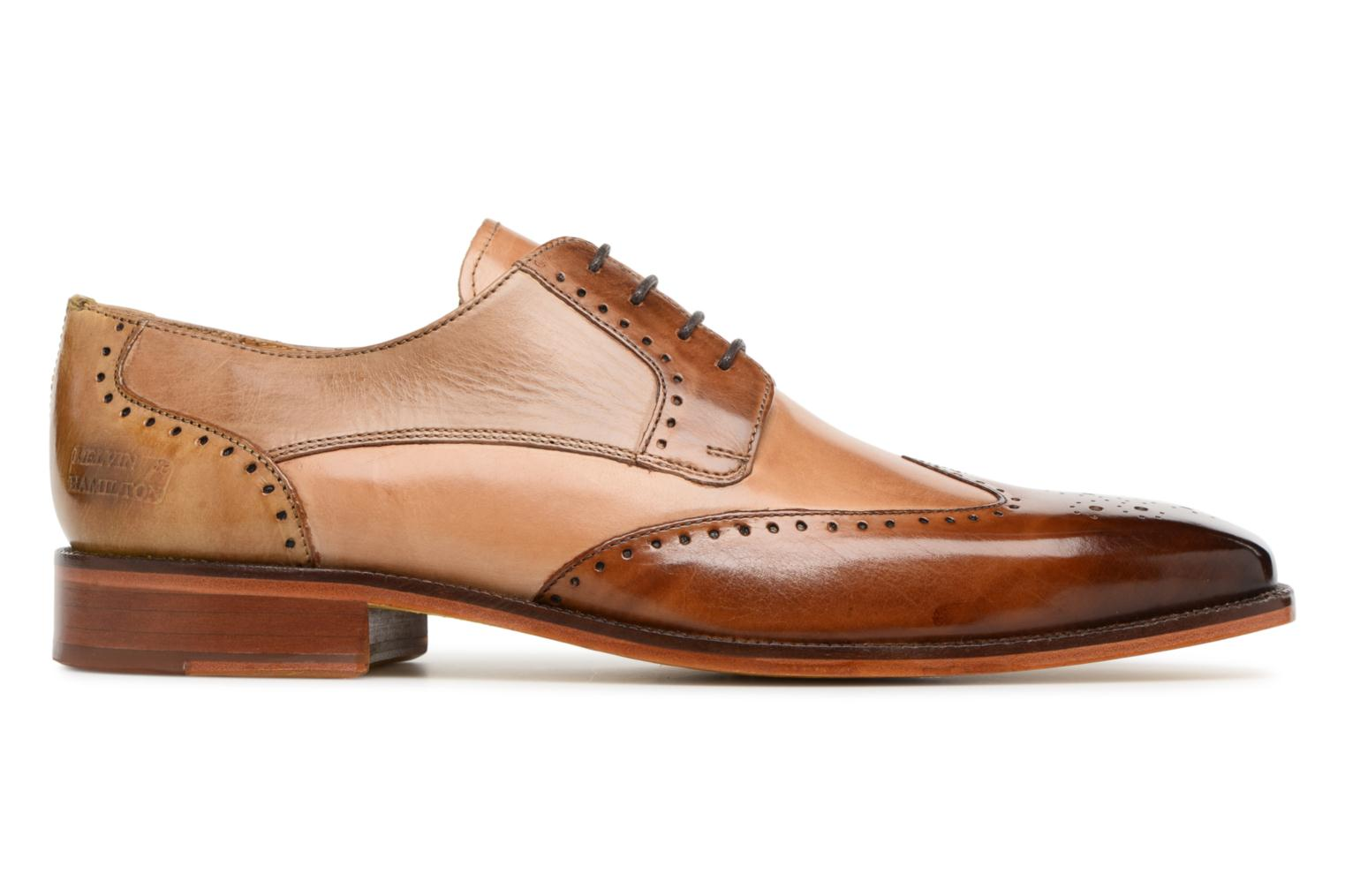Lace-up shoes Melvin & Hamilton Jeff 14 Brown back view
