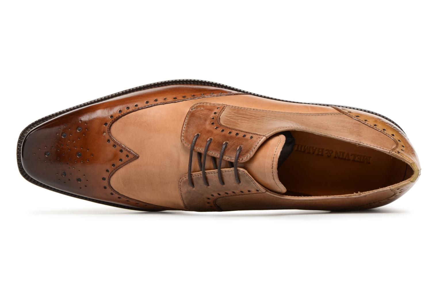 Lace-up shoes Melvin & Hamilton Jeff 14 Brown view from the left