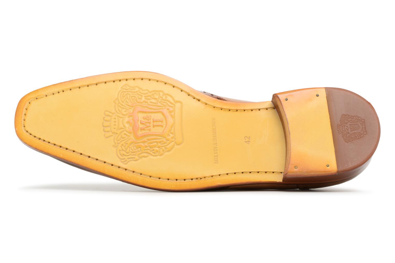 Zapatos con cordones Melvin & Hamilton Jeff 14 Marrón vista de arriba