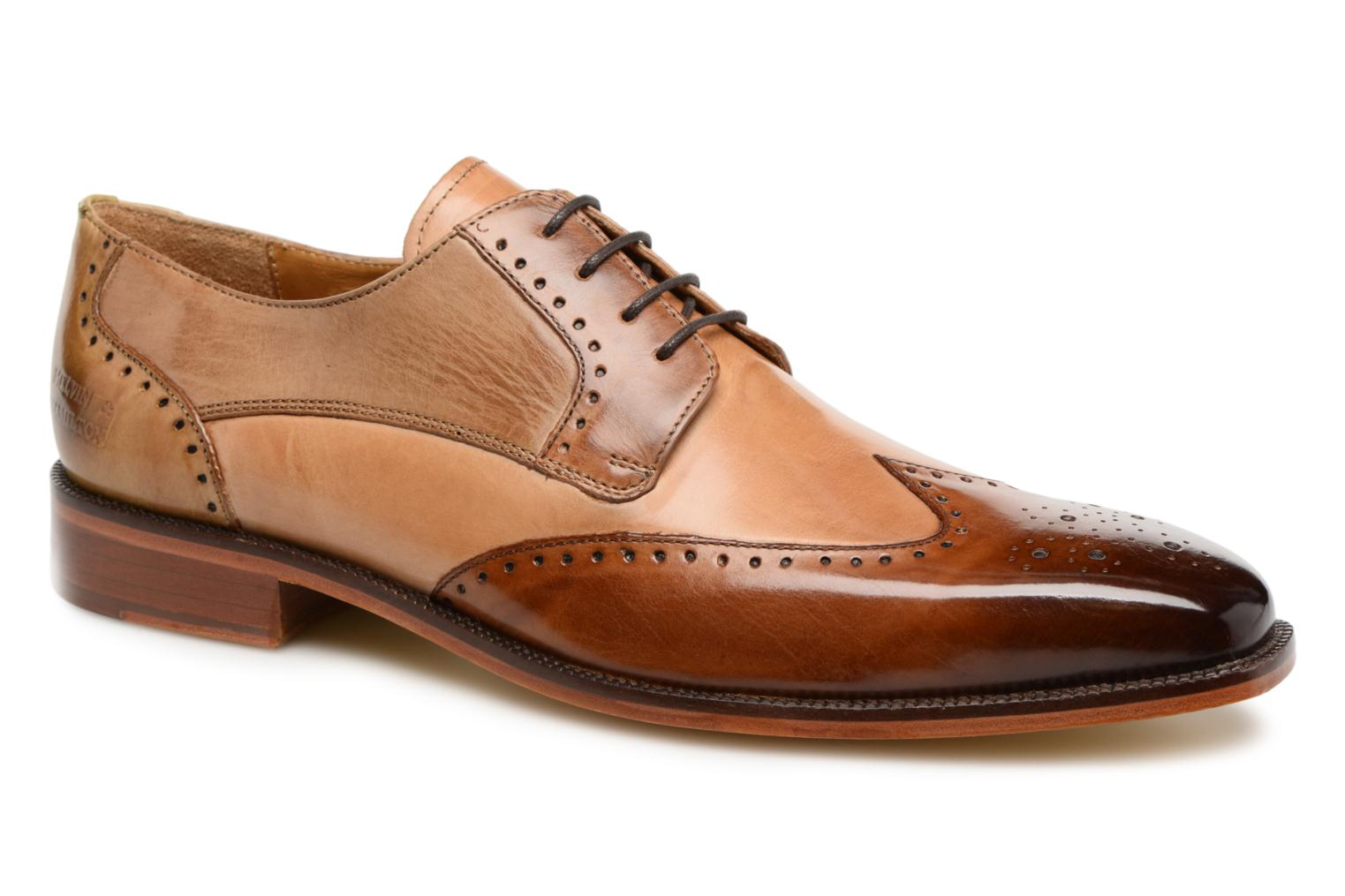 Lace-up shoes Melvin & Hamilton Jeff 14 Brown detailed view/ Pair view