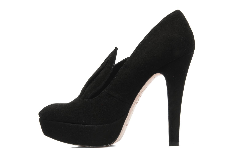 High heels Minna Parikka Angora Black front view