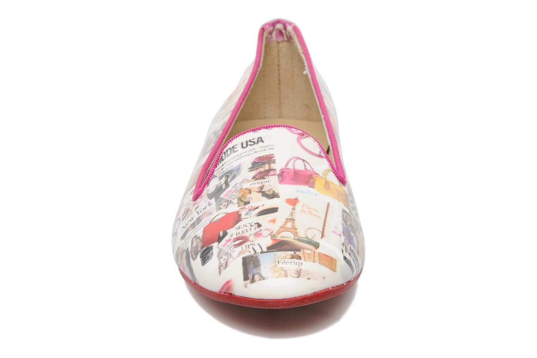 Mocassini Coco et abricot Donilo Multicolore modello indossato