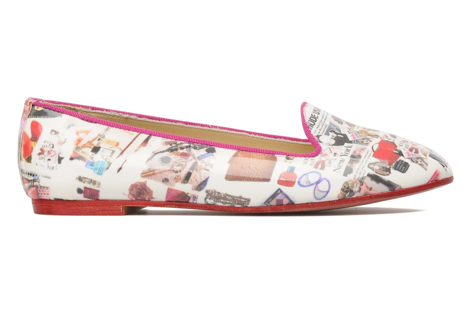 Loafers Coco et abricot Donilo Multicolor back view
