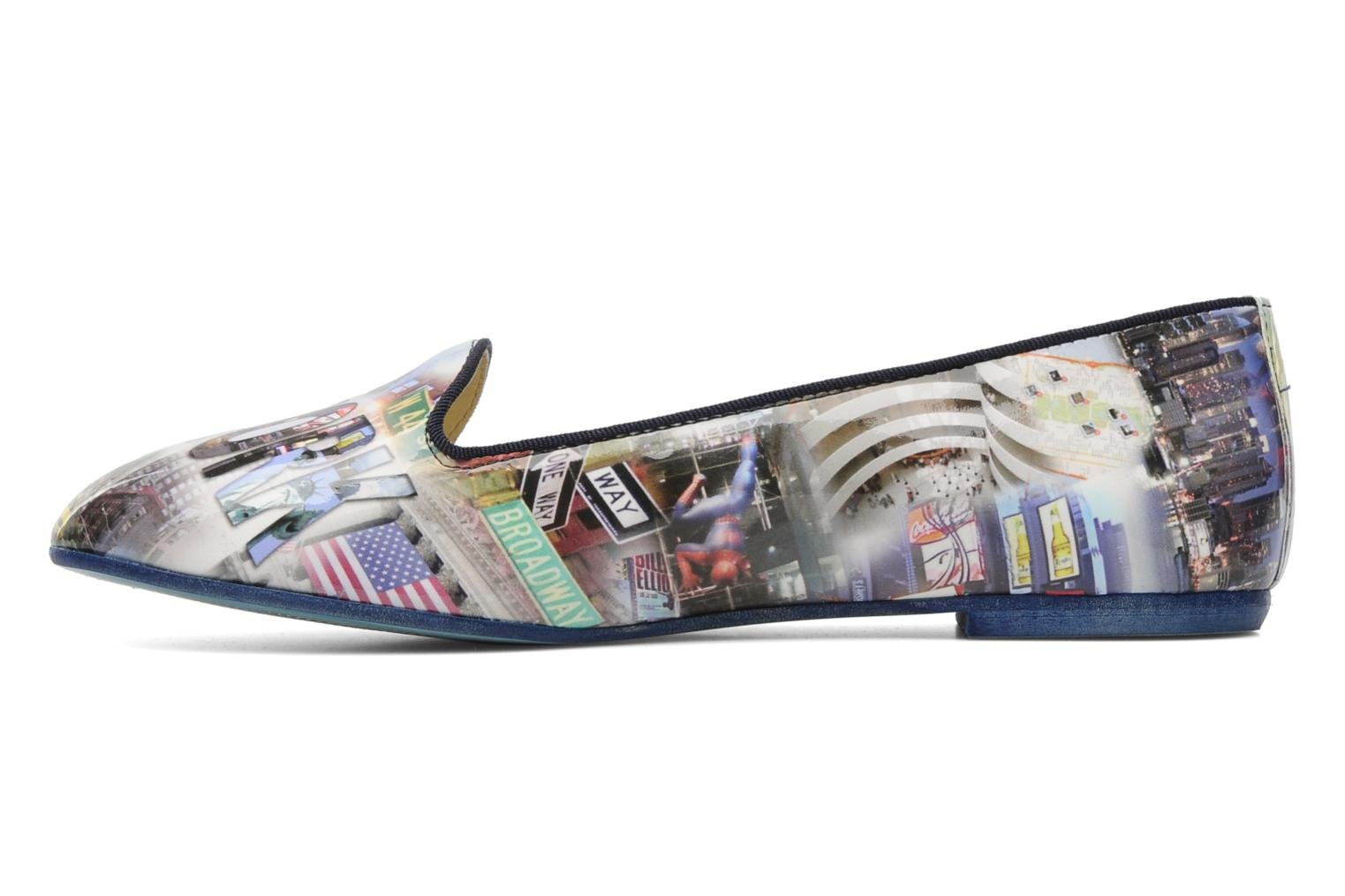 Loafers Coco et abricot Donilo Multicolor front view