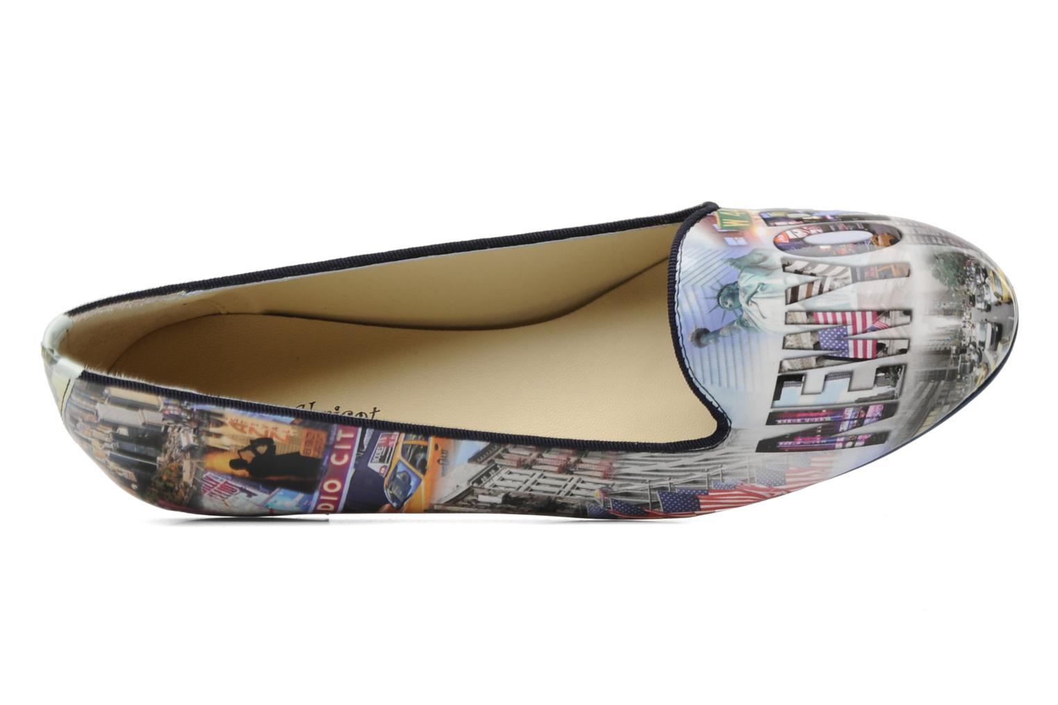 Loafers Coco et abricot Donilo Multicolor view from the left