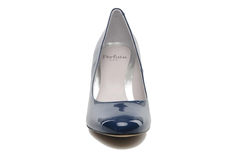 Escarpins Perlato Paty Bleu vue portées chaussures