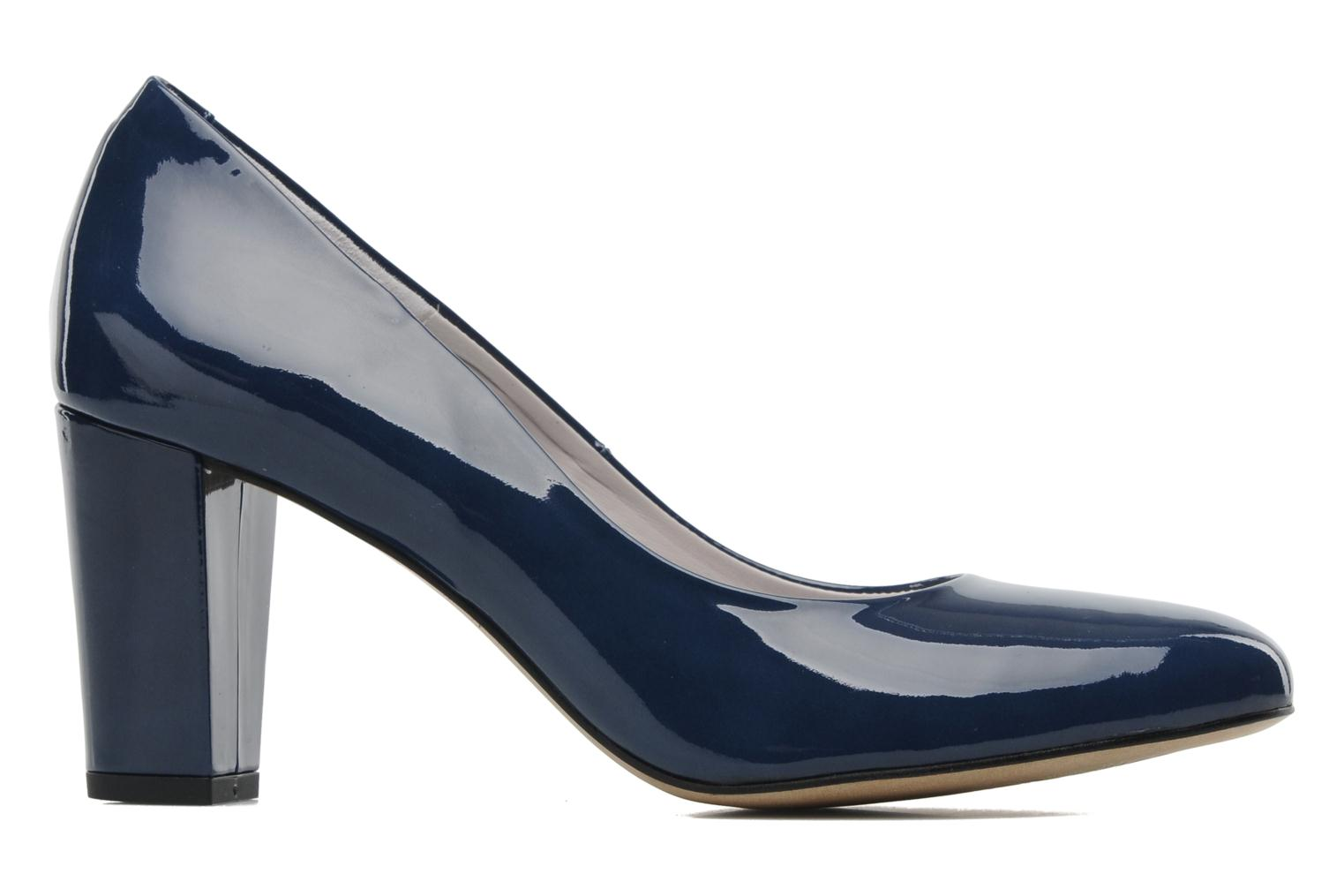 High heels Perlato Paty Blue back view
