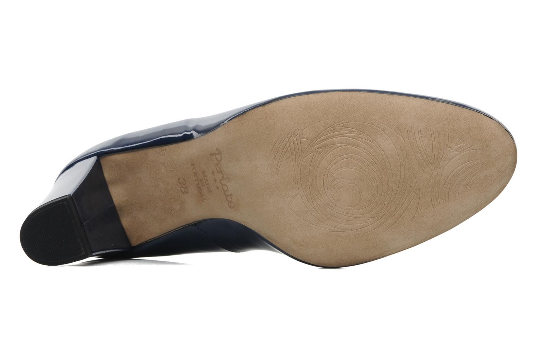 Zapatos de tacón Perlato Paty Azul vista de arriba