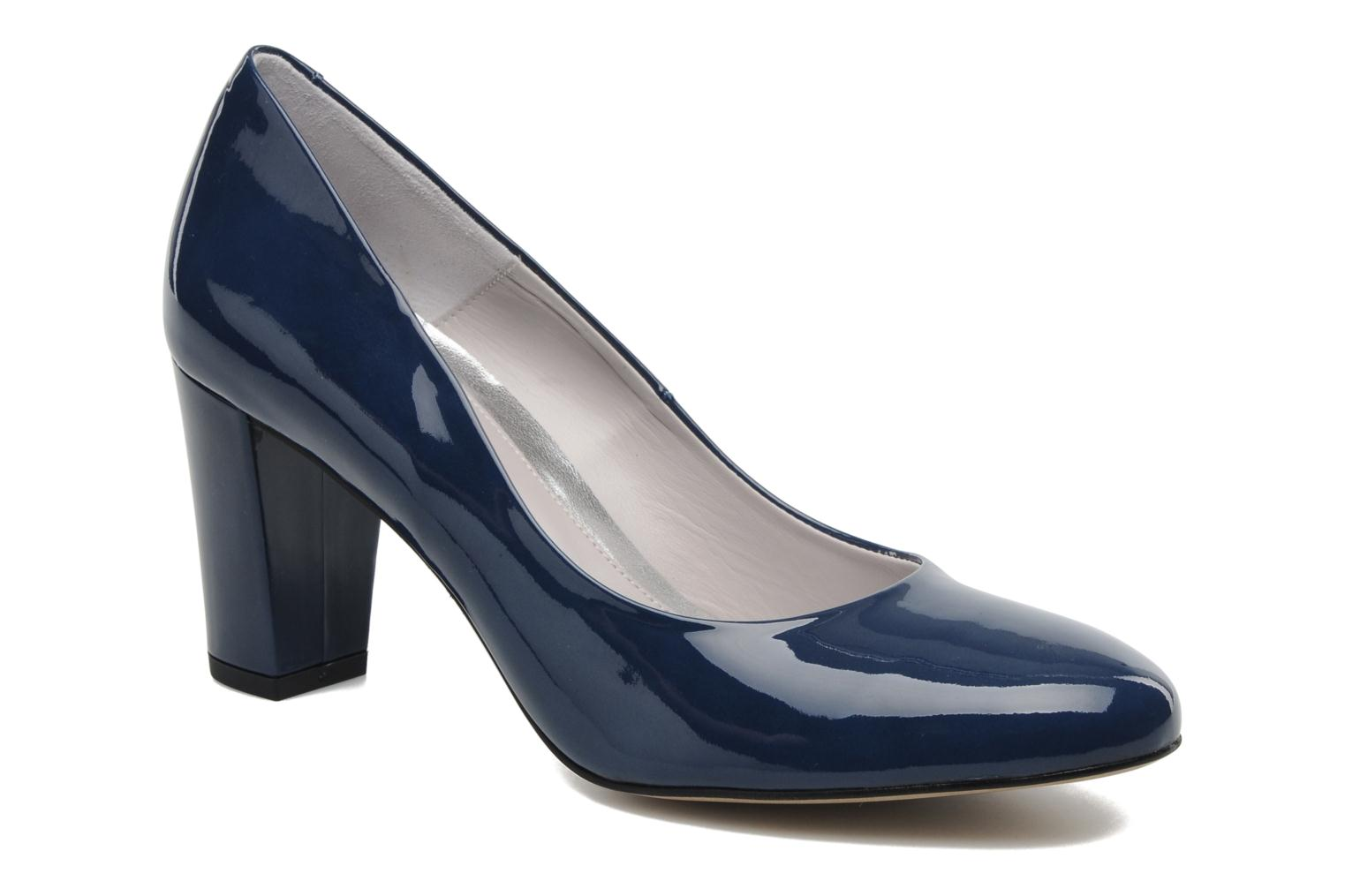 High heels Perlato Paty Blue detailed view/ Pair view