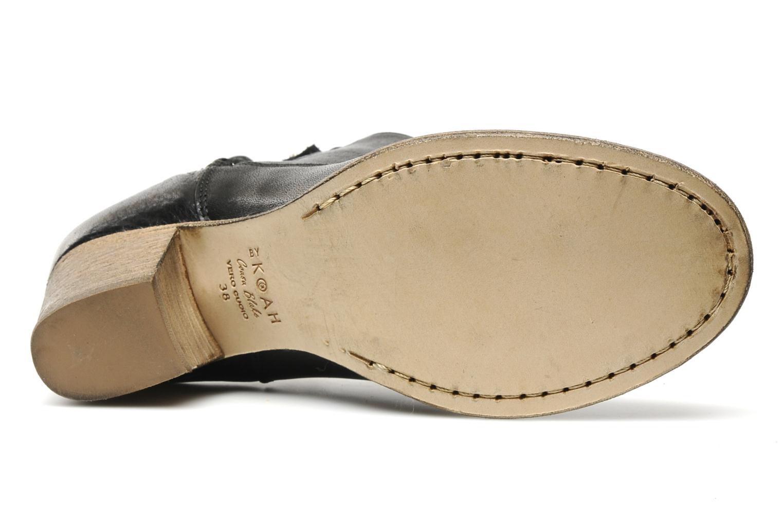 Bottines et boots Koah Oria Noir vue haut