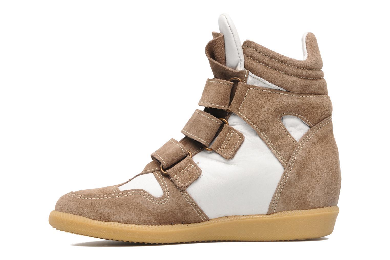 Sneaker Acebo's Ariel braun ansicht von vorne
