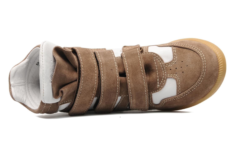 Sneaker Acebo's Ariel braun ansicht von links