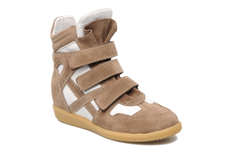 Baskets Acebo's Ariel Marron vue détail/paire