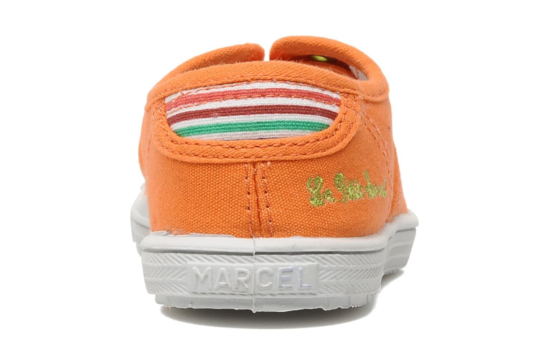Sneakers Little Marcel Benistic Uni Oranje rechts