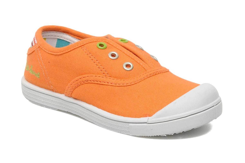 Sneakers Little Marcel Benistic Uni Oranje detail