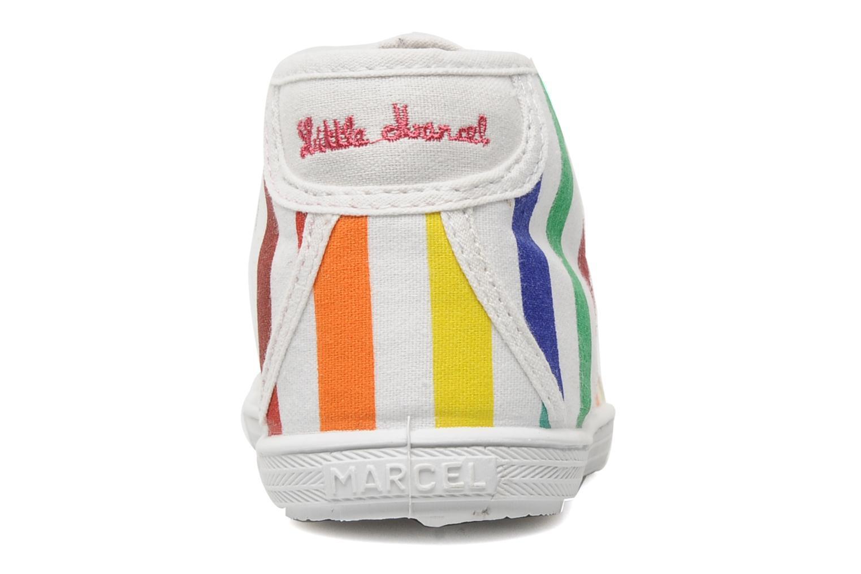 Sneaker Little Marcel Benilace Up Mutli J mehrfarbig ansicht von rechts