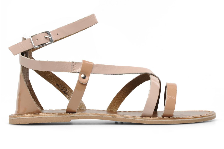 Sandalen Pieces Cecilia Roze achterkant