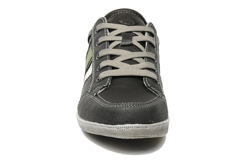 Baskets I Love Shoes Jugo Gris vue portées chaussures