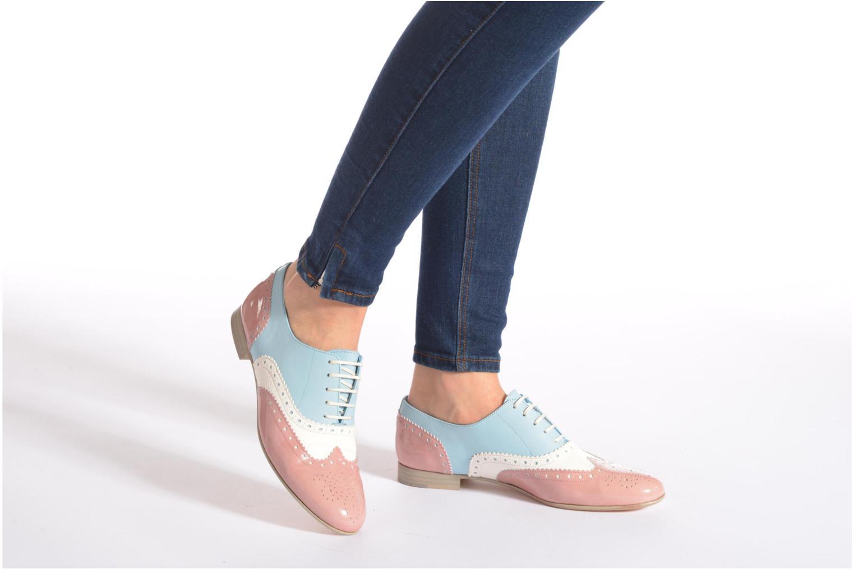Chaussures à lacets Georgia Rose Paralia Multicolore vue bas / vue portée sac