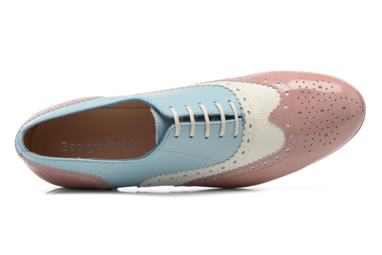 Chaussures à lacets Georgia Rose Paralia Multicolore vue gauche