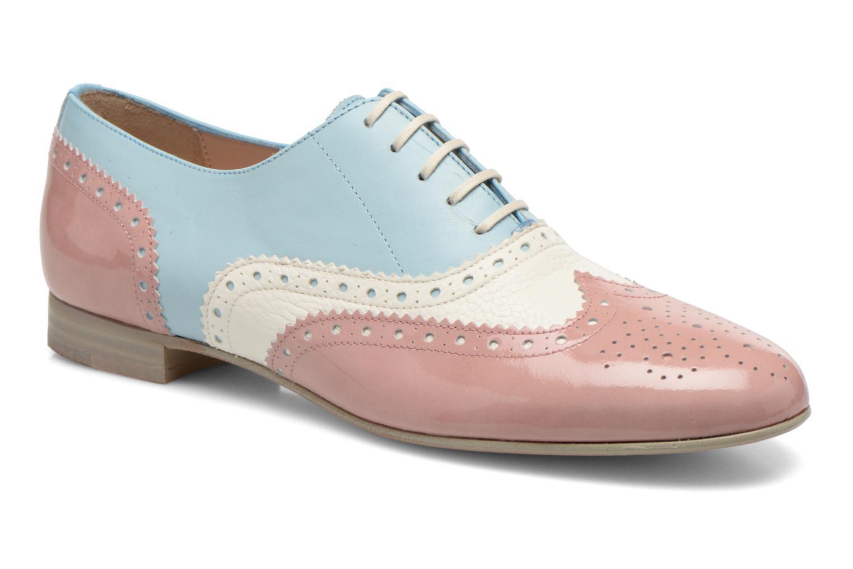 Chaussures à lacets Georgia Rose Paralia Multicolore vue détail/paire