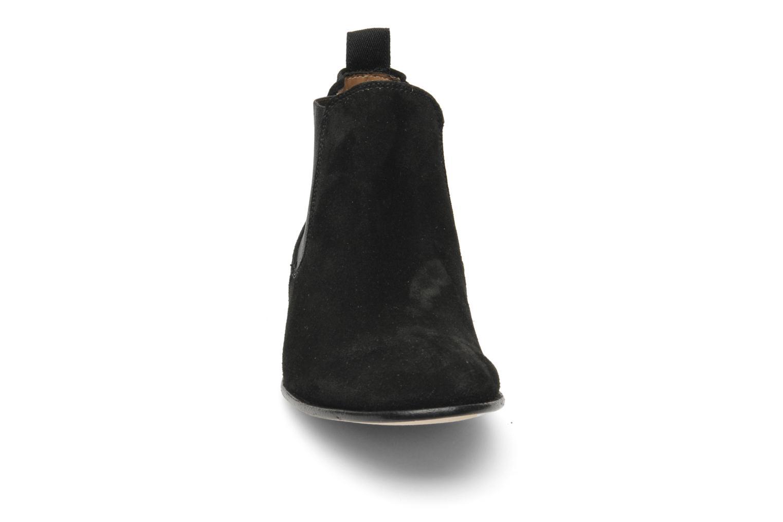 Bottines et boots Georgia Rose Parva Noir vue portées chaussures