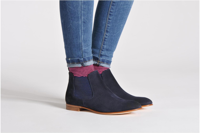 Stiefeletten & Boots Georgia Rose Parva blau ansicht von unten / tasche getragen