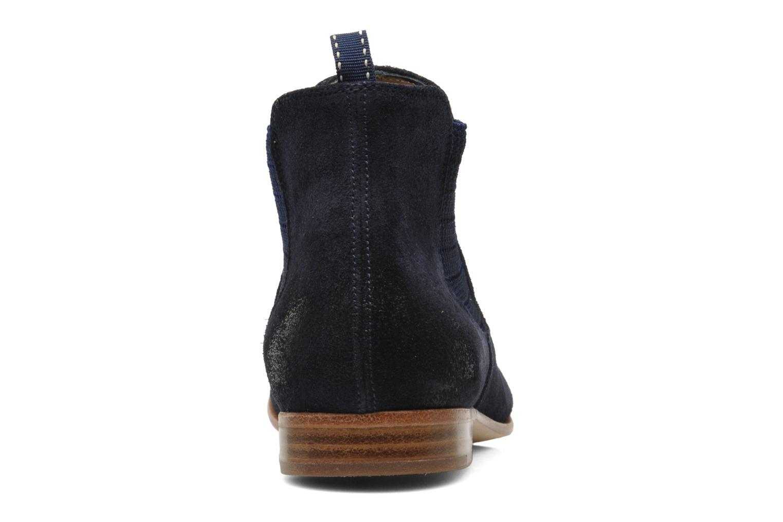 Boots en enkellaarsjes Georgia Rose Parva Blauw rechts
