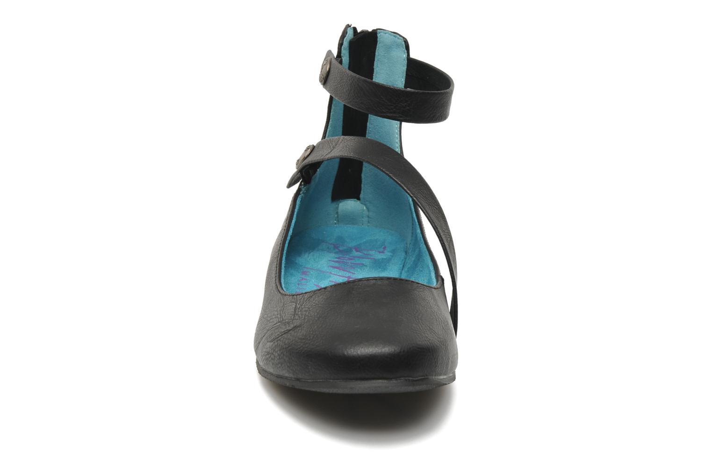 Ballerines Blowfish Panton Noir vue portées chaussures