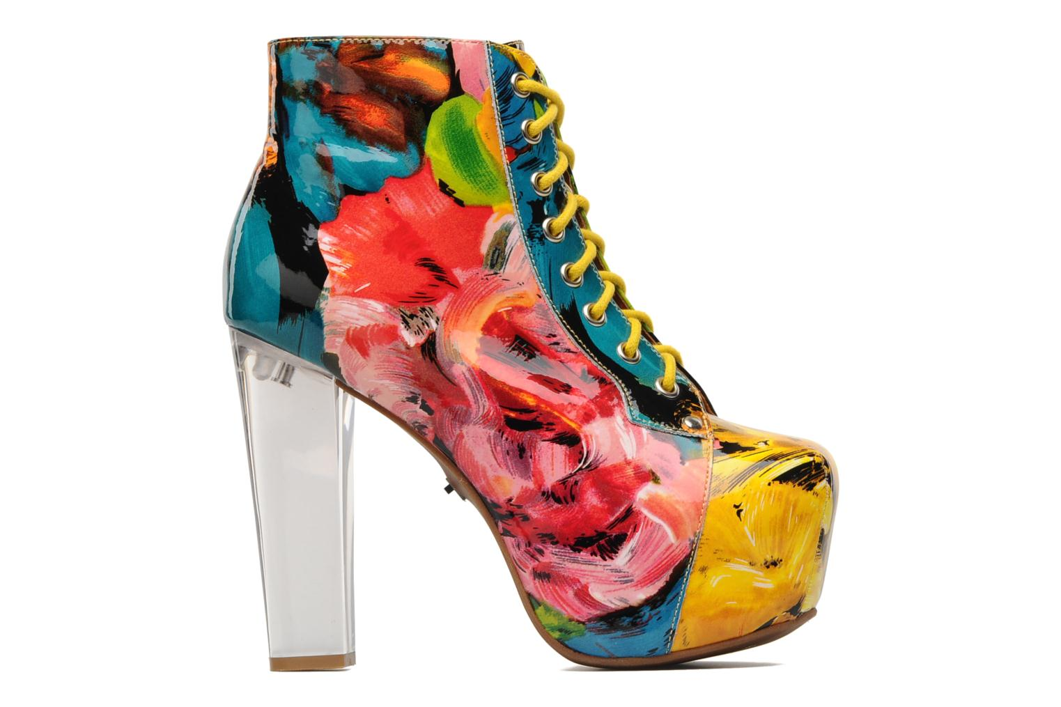 Ankle boots Jeffrey Campbell Lita Lights Multicolor back view
