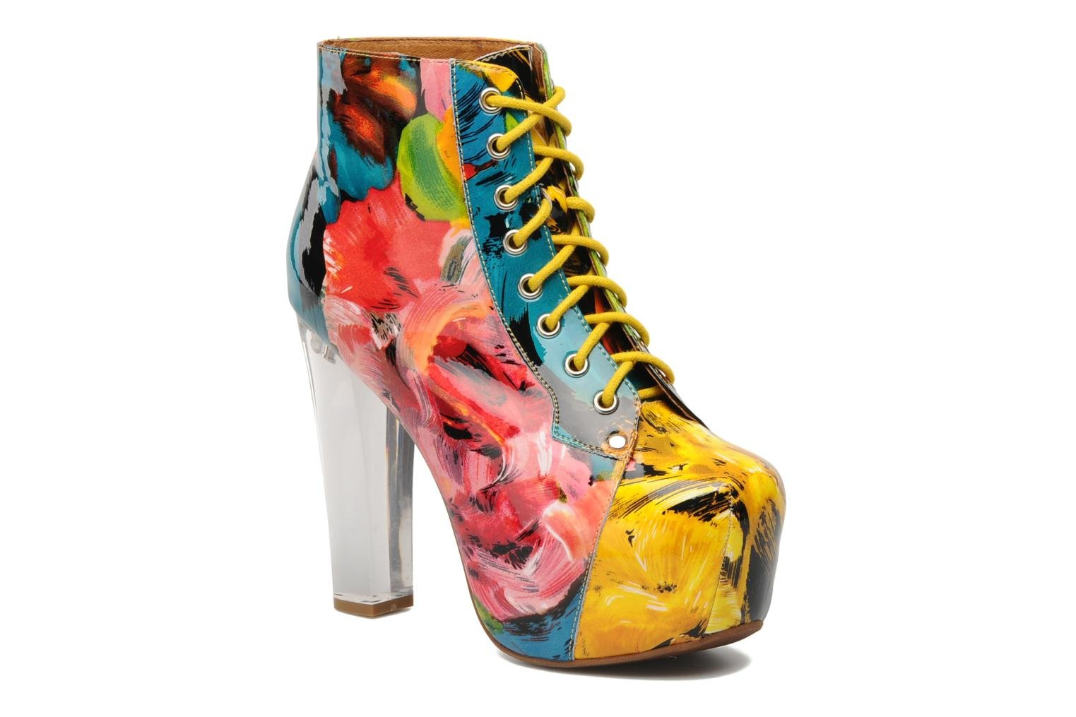 Ankle boots Jeffrey Campbell Lita Lights Multicolor detailed view/ Pair view