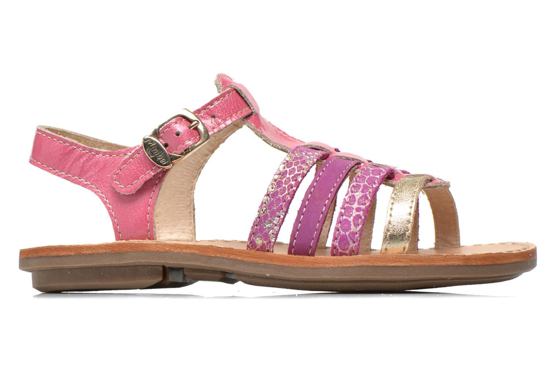 Sandales et nu-pieds Minibel Chana Rose vue derrière