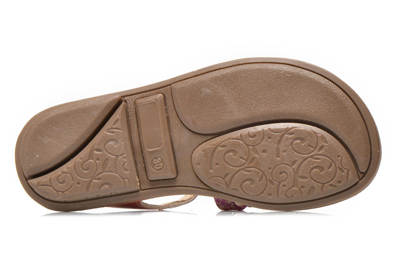 Sandales et nu-pieds Minibel Chana Rose vue haut