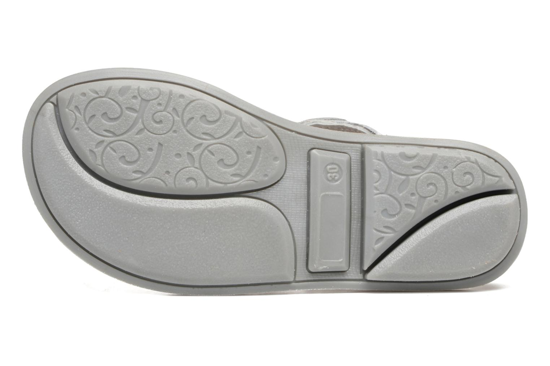 Sandalen Minibel Chana weiß ansicht von oben