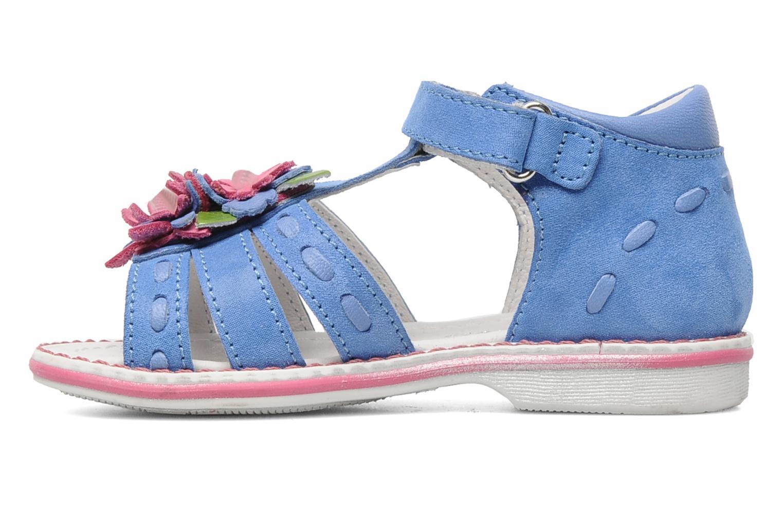 Sandals Romagnoli Ninon Blue front view
