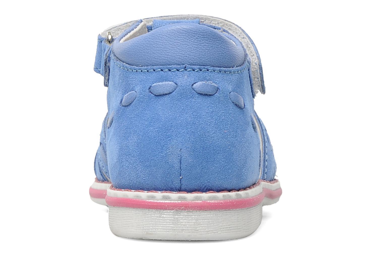 Sandalen Romagnoli Ninon Blauw rechts