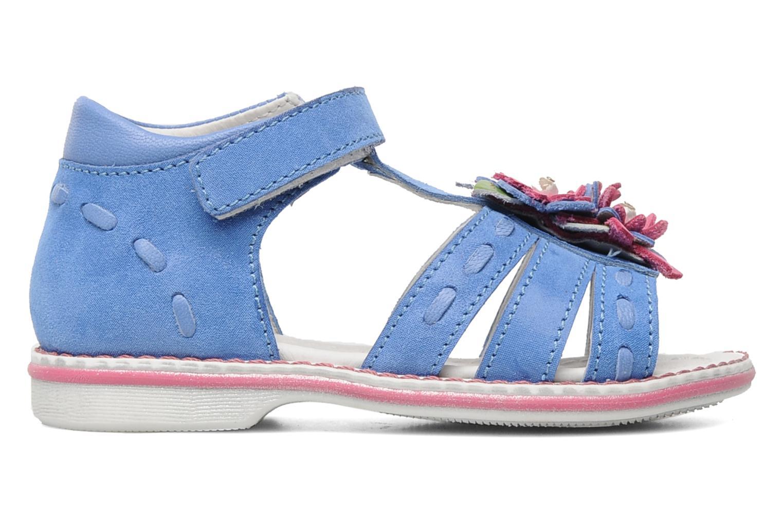Sandals Romagnoli Ninon Blue back view
