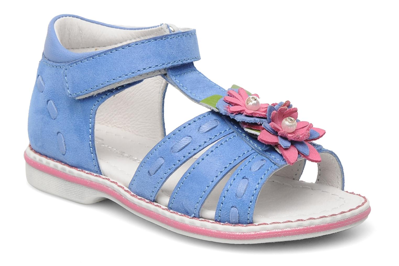 Sandals Romagnoli Ninon Blue detailed view/ Pair view