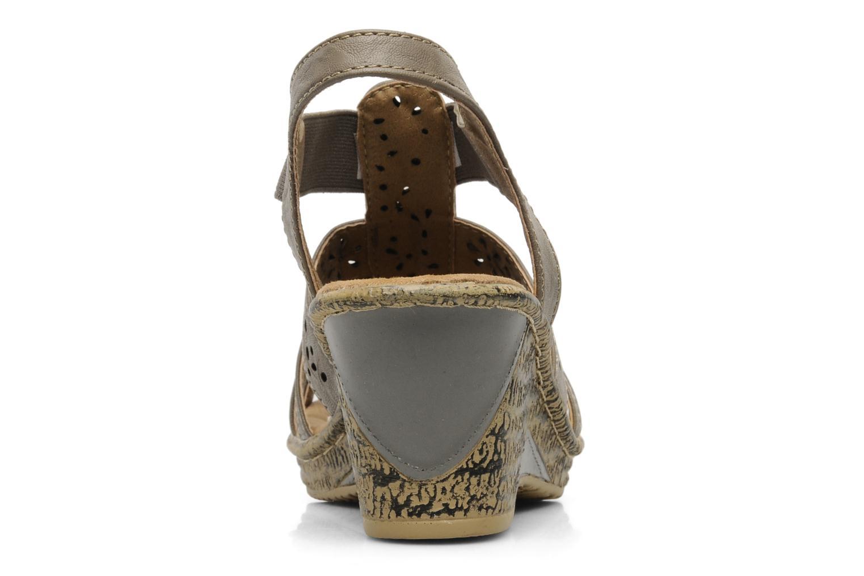 Sandales et nu-pieds I Love Shoes Suzanne Beige vue droite