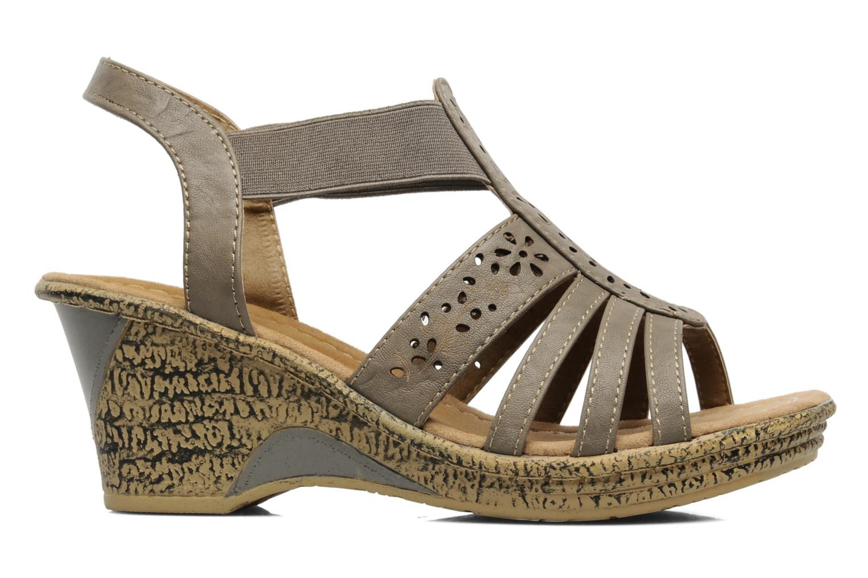 Sandales et nu-pieds I Love Shoes Suzanne Beige vue derrière